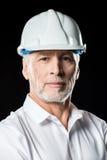 Arquitecto de sexo masculino maduro Foto de archivo libre de regalías