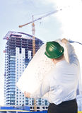 Arquitecto del Highrise Fotos de archivo libres de regalías