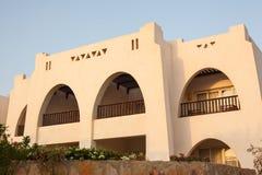 Arquitectura árabe, del este, decoración del turismo, la sombra de los pasos Imagen de archivo