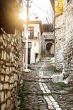 Arquitectura única de Berat Imagen de archivo libre de regalías