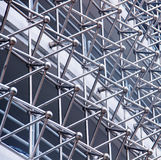 Arquitectura abstracta de un edificio moderno; foto de archivo libre de regalías