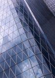 Arquitectura abstracta de un edificio moderno fotografía de archivo libre de regalías