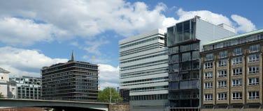 Arquitectura agradable de HafenCity Hamburgo - Alemania - Europa Imagen de archivo