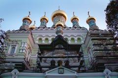 Arquitectura agradable de la iglesia Foto de archivo libre de regalías