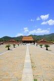 Arquitectura antigua china en las tumbas reales del este del Q Fotografía de archivo libre de regalías
