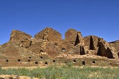 Arquitectura antigua de Chacoan Imagen de archivo libre de regalías