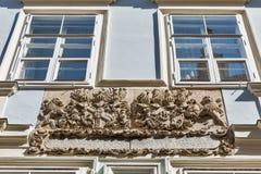 Arquitectura antigua de Graz en Austria Foto de archivo