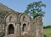 Arquitectura antigua de Mandav Fotografía de archivo