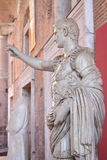 Arquitectura antigua de Roma Foto de archivo libre de regalías