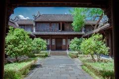 Arquitectura antigua del chino del estilo Fotografía de archivo