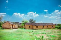 Arquitectura antigua del chino del estilo Fotos de archivo