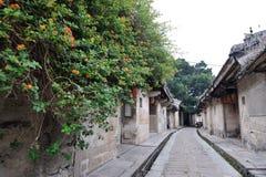 Arquitectura antigua del pueblo del longhu chino Imagenes de archivo