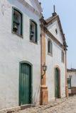 Arquitectura antigua y calle en la ciudad de Paraty - RJ Imágenes de archivo libres de regalías
