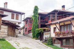 Arquitectura balcánica en Bulgaria Foto de archivo