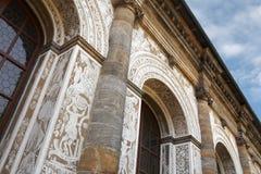 Arquitectura barroca Fotografía de archivo libre de regalías