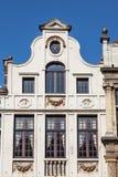 Arquitectura belga tradicional en Bruselas Imagen de archivo