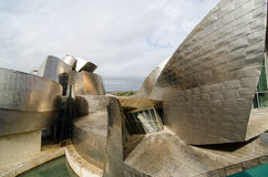 Arquitectura Bilbao Imagenes de archivo