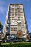Arquitectura brutal en Zagreb fotos de archivo