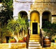 Arquitectura céntrica Israel de Haifa Imágenes de archivo libres de regalías