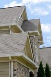 Arquitectura casera del tejado Imagenes de archivo