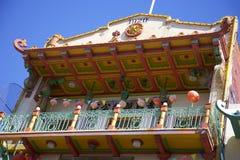 Arquitectura china Imagen de archivo libre de regalías
