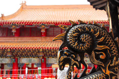 Arquitectura china Foto de archivo libre de regalías