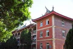 Arquitectura china de la universidad de Xiamen en China fotos de archivo