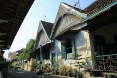 Arquitectura clásica de la casa en Kauman Fotos de archivo libres de regalías