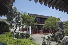 Arquitectura clásica china Imágenes de archivo libres de regalías