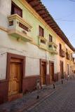 Arquitectura colonial en San Gabriel, Ecuador Imágenes de archivo libres de regalías