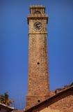 Arquitectura colonial - torre de reloj de piedra Galle, Sri Lanka fotografía de archivo