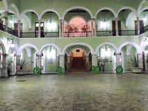 Arquitectura colonial urbana en Ciudad de México Imágenes de archivo libres de regalías
