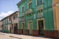 Arquitectura colonial vista en San Gabriel, Ecuador Fotografía de archivo libre de regalías