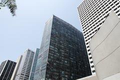 Arquitectura corporativa en Rio de Janeiro Foto de archivo libre de regalías