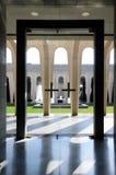 Arquitectura cristiana moderna Imagen de archivo libre de regalías