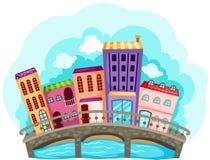 Arquitectura da cidade Imagens de Stock