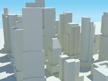 Arquitectura da cidade 4 Foto de Stock