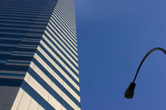Arquitectura da cidade abstrata Foto de Stock Royalty Free