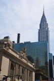 Arquitectura da cidade clássica de NewYork Imagens de Stock