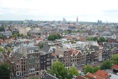 Arquitectura da cidade de Amsterdão Fotos de Stock Royalty Free