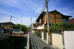 Arquitectura da cidade de Arashiyama Fotografia de Stock Royalty Free