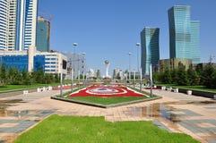 Arquitectura da cidade de Astana Fotografia de Stock Royalty Free