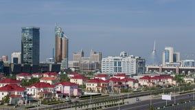 Arquitectura da cidade de Astana Foto de Stock
