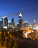 Arquitectura da cidade de Atlanta Geórgia Fotografia de Stock Royalty Free