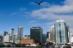 Arquitectura da cidade de Auckland Fotografia de Stock Royalty Free