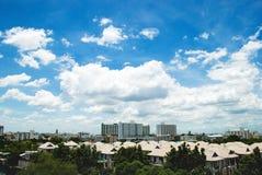 Arquitectura da cidade de Banguecoque Imagem de Stock