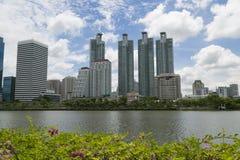 Arquitectura da cidade de Banguecoque Tailândia fotos de stock royalty free