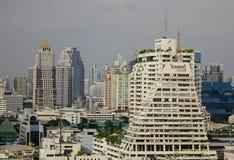 Arquitectura da cidade de Banguecoque, Tailândia Foto de Stock Royalty Free