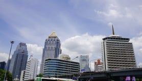 Arquitectura da cidade de Banguecoque, Tailândia Imagem de Stock