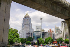 Arquitectura da cidade de Banguecoque, Tailândia Fotografia de Stock